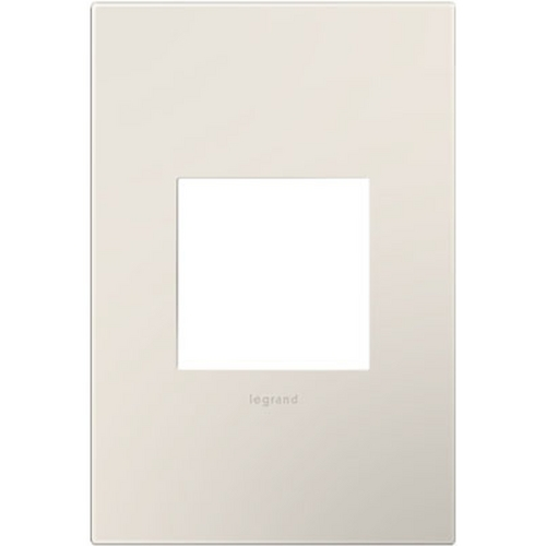 Legrand Adorne Legrand Adorne Satin Light Almond 1-Gang Switch Plate AWP1G2LA6