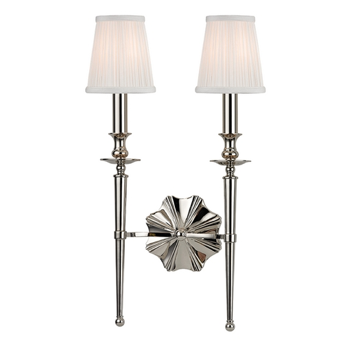 Hudson Valley Lighting Hudson Valley Lighting Ellery Polished Nickel Sconce 9922-PN