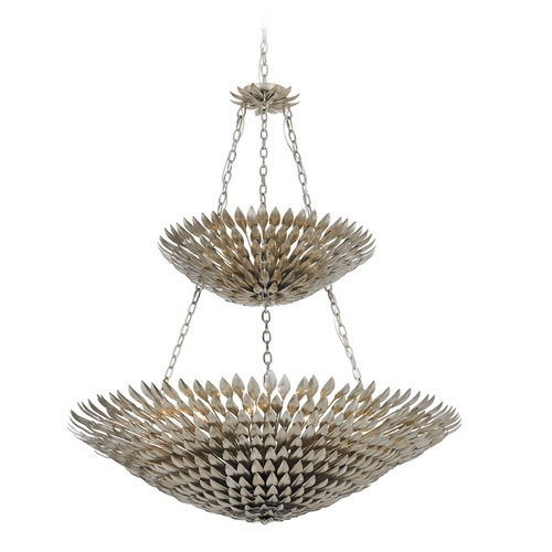 Crystorama Lighting Crystorama Lighting Broche Antique Silver Pendant Light 599-SA