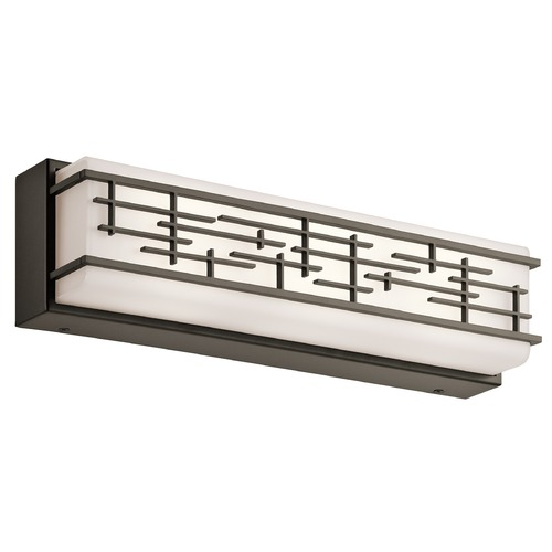 Kichler Lighting Kichler Lighting Zolon Olde Bronze LED Bathroom Light 45829OZLED