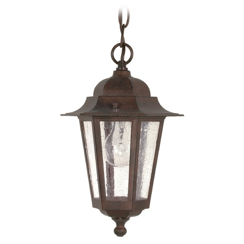 Nuvo Lighting Nuvo Lighting Cornerstone Old Bronze Outdoor Hanging Light 60/992
