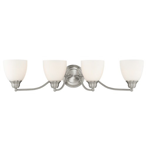 Livex Lighting Livex Lighting Somerville Brushed Nickel Bathroom Light 13674-91