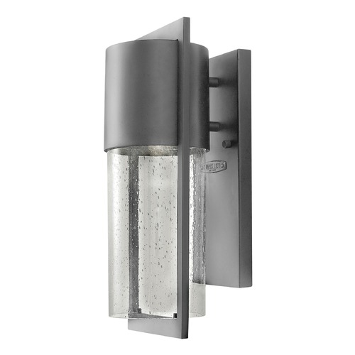 Hinkley Lighting Hinkley Lighting Shelter Hematite Outdoor Wall Light 1320HE-GU24