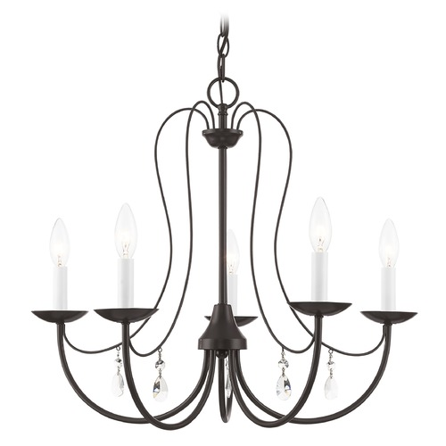 Livex Lighting Livex Lighting Mirabella English Bronze Chandelier 40865-92