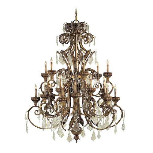 Metropolitan Lighting Crystal Chandelier in Padova Finish N6229-363