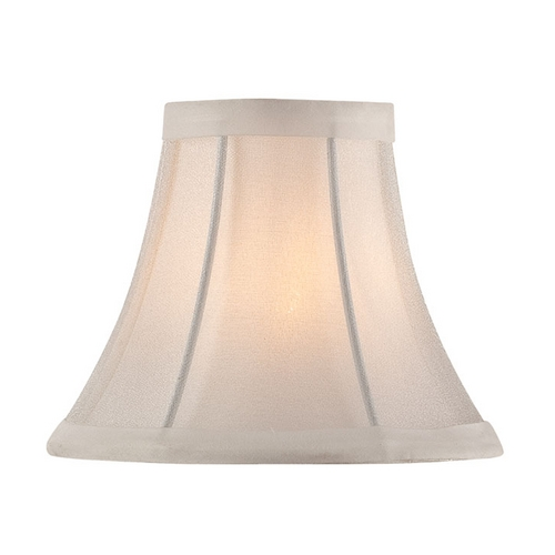 Lite Source Lighting Bell Lamp Shade with Clip-On Assembly CH5221-6