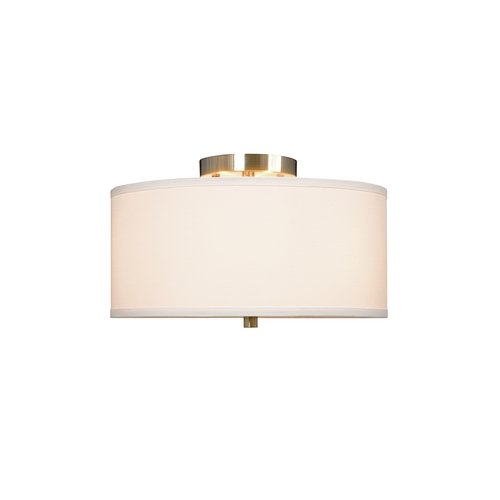 Galaxy Excel Lighting Ansley Three-Light Semi-Flushmount Ceiling Light 613048BN