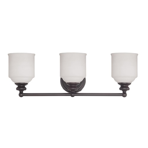 Savoy House Savoy House English Bronze Bathroom Light 8-6836-3-13