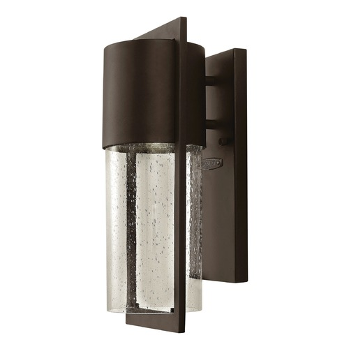 Hinkley Lighting Hinkley Lighting Shelter Buckeye Bronze Outdoor Wall Light 1320KZ-GU24