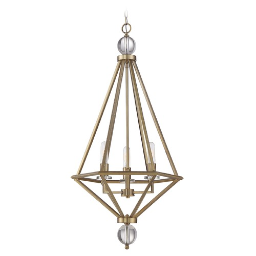 Savoy House Savoy House Lighting Tekoa Warm Brass Pendant Light 7-681-3-322