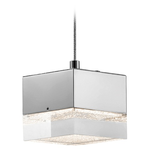 Elan Lighting Elan Lighting Gorve Chrome LED Mini-Pendant Light 83601