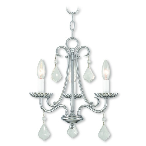 Livex Lighting Livex Lighting Daphne Polished Chrome Mini-Chandelier 40873-05