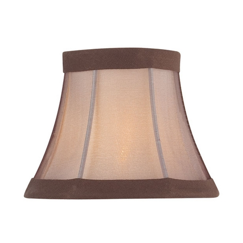 Lite Source Lighting Linen Bell Lamp Shade with Clip-On Assembly CH5222-5