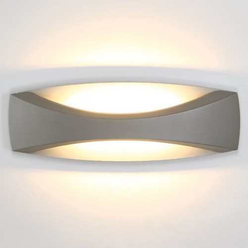 WAC Lighting WAC Lighting Arch Graphite Outdoor Wall Light WS-W26513-GH
