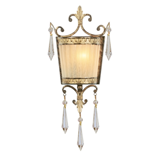 Livex Lighting Livex Lighting La Bella Vintage Gold Leaf Sconce 8880-65
