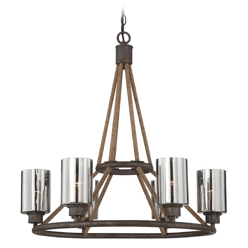 Savoy House Savoy House Artisan Rust Chandelier 1-5150-6-32