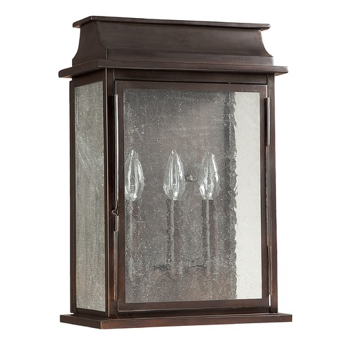 Capital Lighting Capital Lighting Bolton Old Bronze Outdoor Wall Light 9663OB