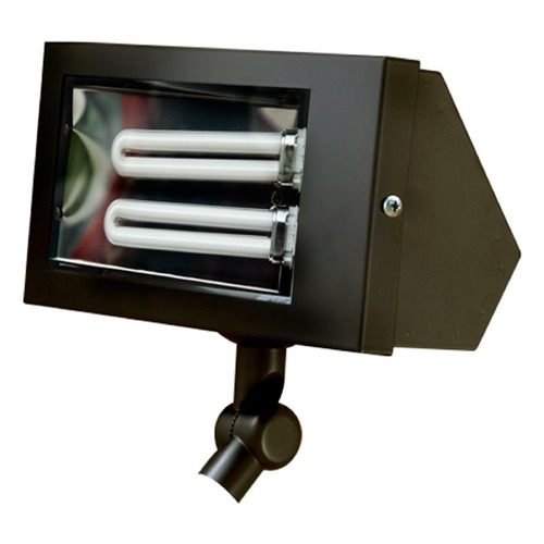 Dabmar Lighting Black Solid Brass Area Flood Light DF5650-B