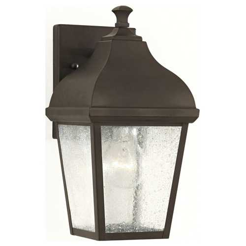 Feiss Lighting Outdoor Wall Light with Clear Glass in Oil Rubbed Bronze Finish OL4001ORB
