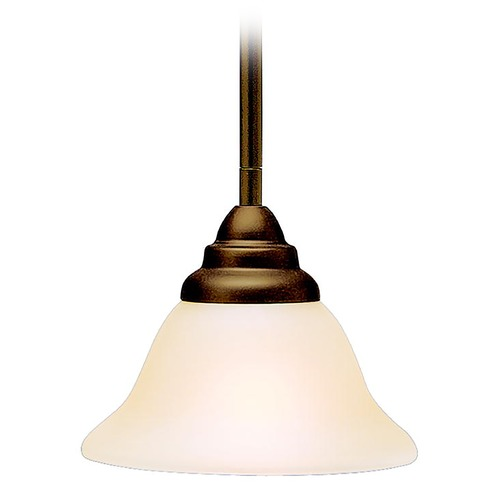 Kichler Lighting Kichler Mini-Pendant Light with Alabaster Glass 3476OZ