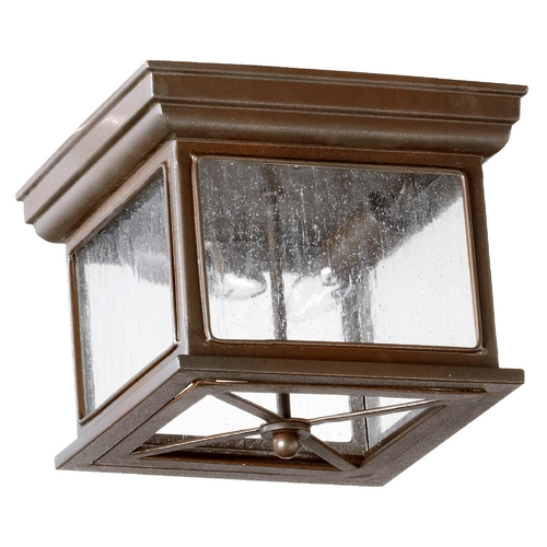 Quorum Lighting Quorum Lighting Magnolia Oiled Bronze Close To Ceiling Light 3043-11-86