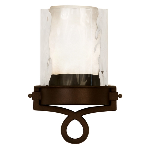 Kalco Lighting Kalco Lighting Newport Satin Bronze Sconce 5755SZ