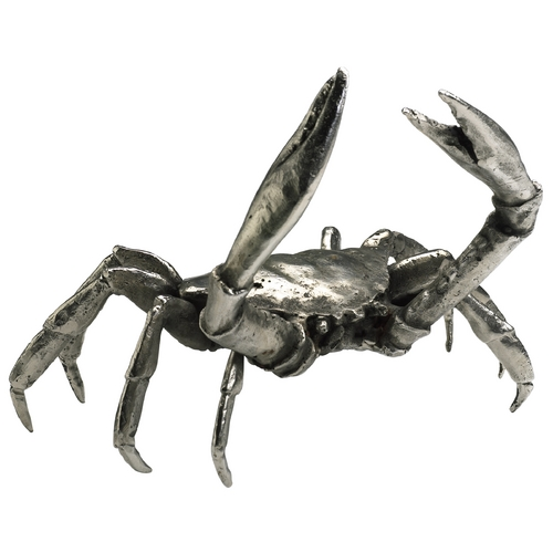 Cyan Design Cyan Design Crab Silver Leaf Sculpture 01897