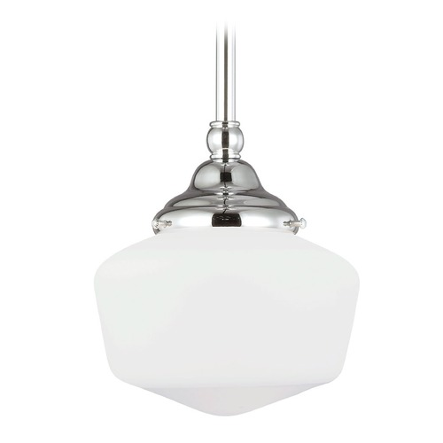 Sea Gull Lighting Sea Gull Lighting Academy Chrome Mini-Pendant Light 65436-05