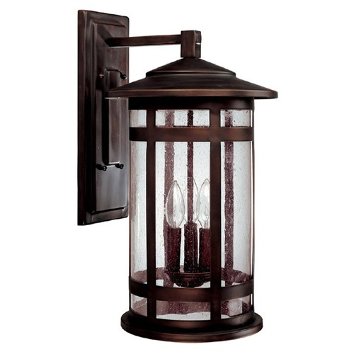 Capital Lighting Capital Lighting Mission Hills Burnished Bronze Outdoor Wall Light 9953BB