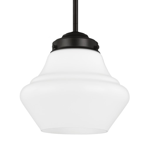 Feiss Lighting Feiss Alcott Oil Rubbed Bronze Mini-Pendant Light P1404ORB