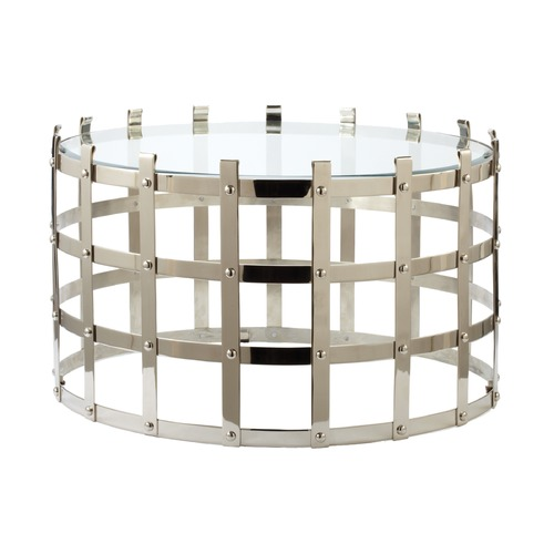 Dimond Home Metal Strap Coffee Table 675001