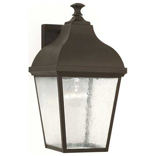 Feiss Lighting Outdoor Wall Light with Clear Glass in Oil Rubbed Bronze Finish OL4002ORB