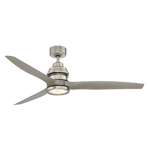Savoy House Savoy House Lighting La Salle Satin Nickel LED Ceiling Fan with Light 60-5025-3SV-SN