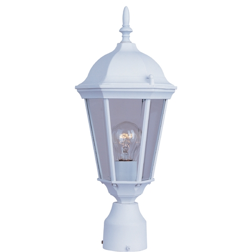 Maxim Lighting Maxim Lighting Westlake White Post Light 1001WT