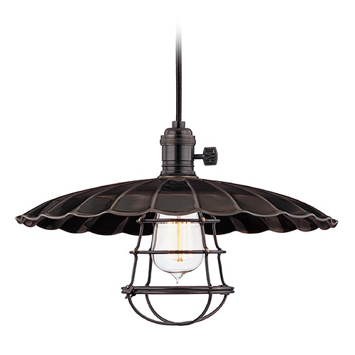 Hudson Valley Lighting Pendant Light in Old Bronze Finish 8002-OB-MM3-WG