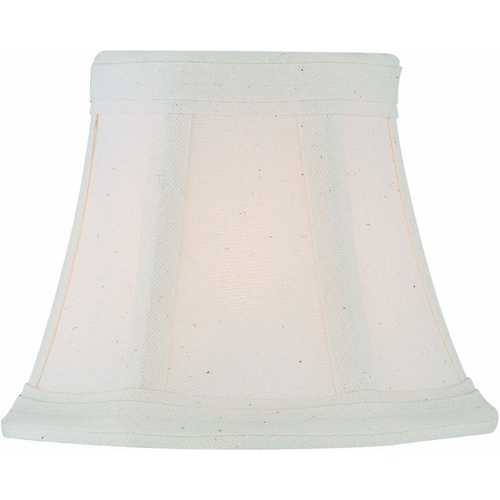 Lite Source Lighting Off-White Bell Lamp Shade with Clip-On Assembly CH5183-5