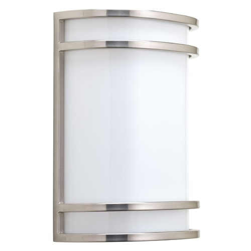 Progress Lighting Progress Lighting Sconce Brushed Nickel LED Sconce P7088-0930K9