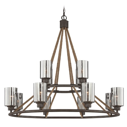Savoy House Savoy House Artisan Rust Chandelier 1-5152-12-32