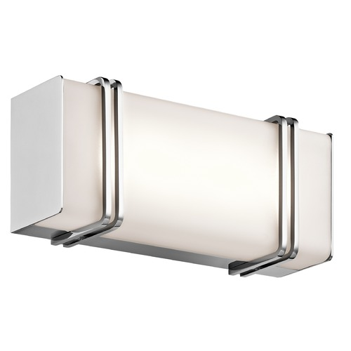 Kichler Lighting Kichler Lighting Impello Chrome LED Bathroom Light 45836CHLED