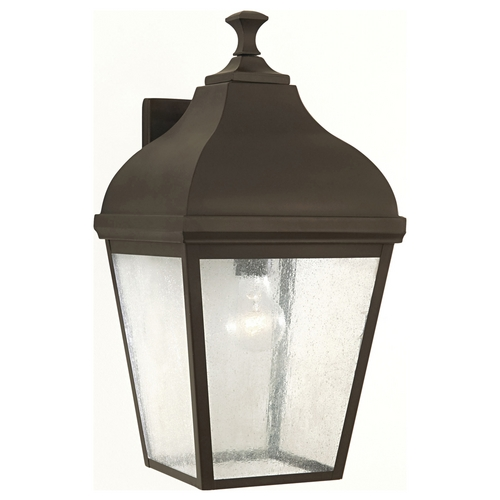Sea Gull Lighting Outdoor Wall Light with Clear Glass in Oil Rubbed Bronze Finish OL4003ORB