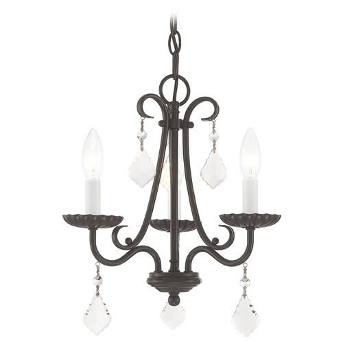 Livex Lighting Livex Lighting Daphne English Bronze Mini-Chandelier 40873-92