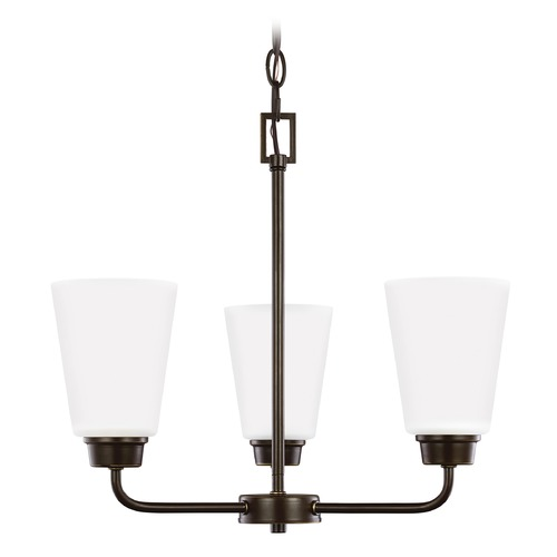 Sea Gull Lighting Sea Gull Lighting Kerrville Heirloom Bronze LED Mini-Chandelier 3115203EN3-782