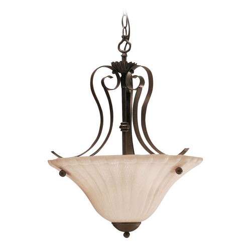 Kichler Lighting Kichler Pendant Light in Bronze Finish 3325TZ