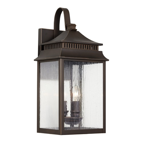 Capital Lighting Capital Lighting Sutter Creek 3-Light Oiled Bronze Outdoor Wall Light 936931OZ
