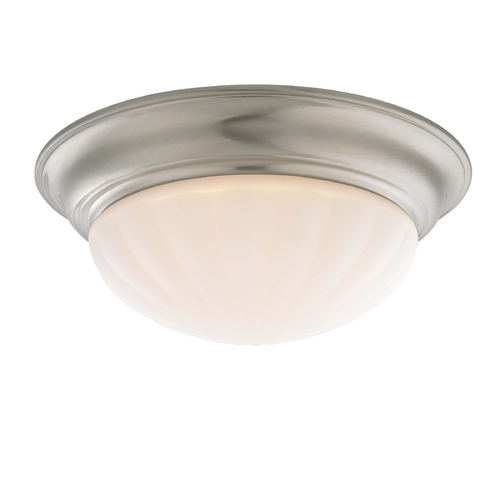 Recesso Lighting by Dolan Designs Decorative Ceiling Trim for Recessed Lights with Melon Glass 10310-09