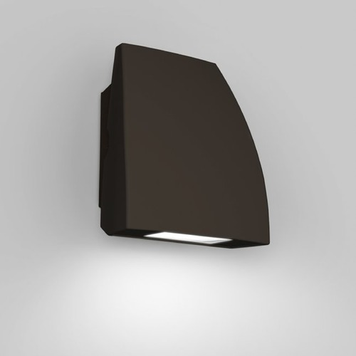 WAC Lighting Modern Bronze LED Outdoor Wall Pack Light WP-LED119-30-ABZ