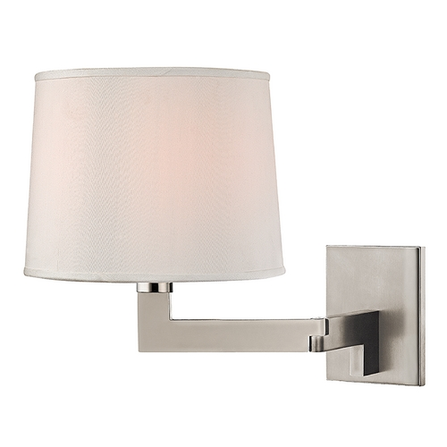 Hudson Valley Lighting Hudson Valley Lighting Fairport Polished Nickel Sconce 5941-PN