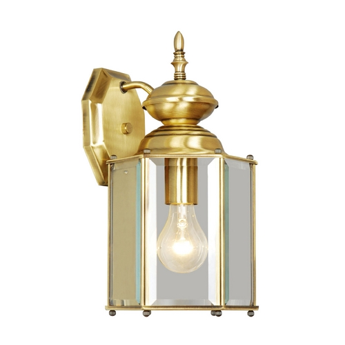 Livex Lighting Livex Lighting Antique Brass Outdoor Wall Light 2007-01