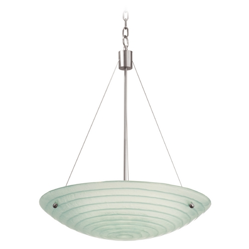 Kalco Lighting Kalco Lighting Aqueous Satin Nickel Pendant Light 5985SN