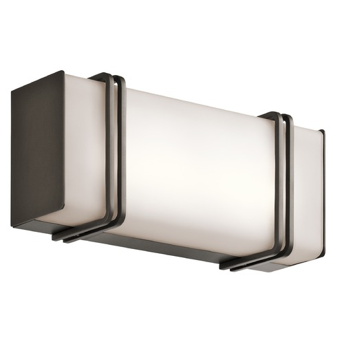 Kichler Lighting Kichler Lighting Impello Olde Bronze LED Bathroom Light 45836OZLED